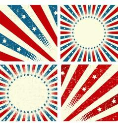 patriotic background vector image vector image