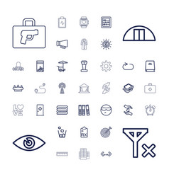 37 concept icons vector