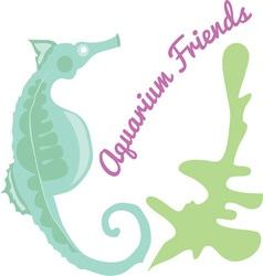 Aquarium Friends vector