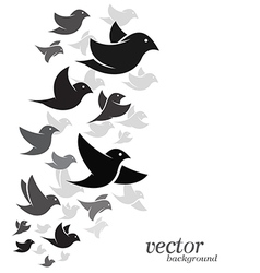 Bird design vector image