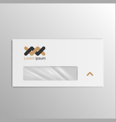 business realistic envelope vector image