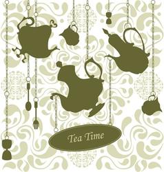 Elegant Teatime vector