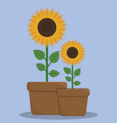 gardening concept design vector image