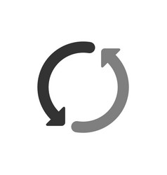loading progress or load circle icon vector image