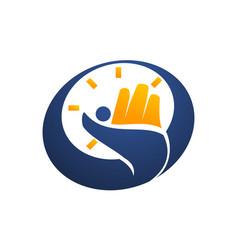 success time management vector image