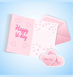 valentines s day set vector image