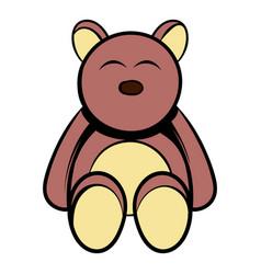 baby bear icon cartoon vector image vector image