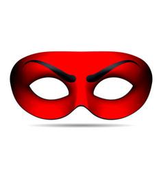 Devil carnival mask vector