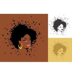 Afro vector