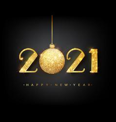 2021 happy new year happy new year vector image