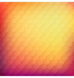 Abstract background of colored cells vector image