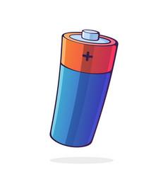 Alkaline electric battery power technology vector