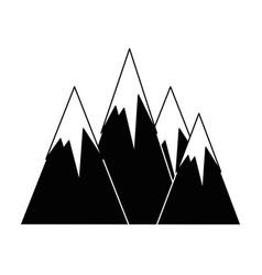 Alps icon image vector