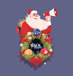 Black friday christmas and happy new year vector
