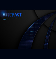 Dark abstract tech background vector