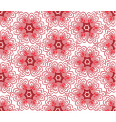 floral oriental seamless ornament ornamental tile vector image