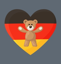 German Teddy Bears vector