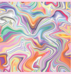 Marble seamless pattern in neon brightful colors vector