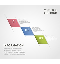 options 01 vector image