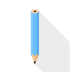 pencil flat design vector image