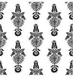 seamless pattern with middle east ornament vector image