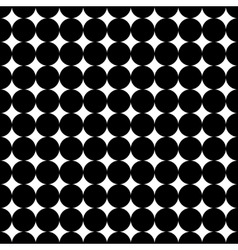 Simple geometric background with circles vector image