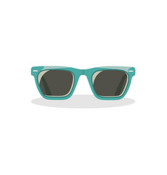 Sunglasses icon on isolated background vector