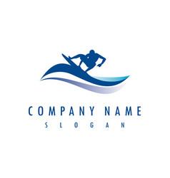 Surf company logo vector