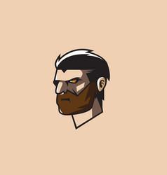 logo man vector image vector image