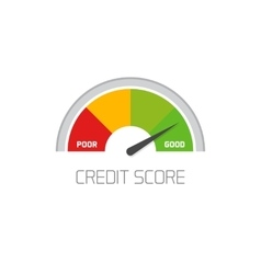 Z business credit score text background word vector image credit score scale showing good value icon vector image reheart Images