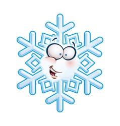 Snowflake Head Hi vector image vector image