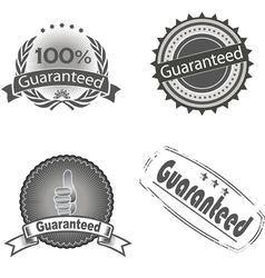 Guaranteed logo vector