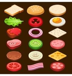 Food ingredients Series vector image