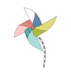 A view of pinwheel vector