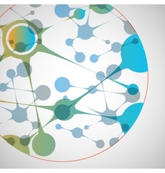 biotechnology Science design vector image