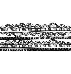 bohemian or boho style ornamental icon image vector image
