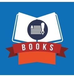 Books design vector