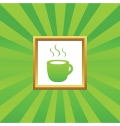 Hot drink picture icon vector image