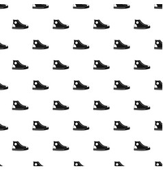 men shoe pattern seamless vector image