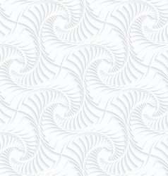 Quilling paper twisted stripes vector