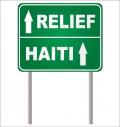 relief sign vector image