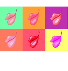 Lips vector image