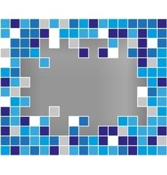 Abstract background broken mozaic vector image vector image