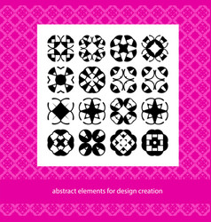 suits for branding logo or patterns abstract vector image vector image