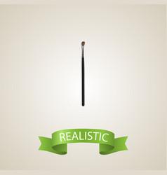 realistic brow makeup tool element vector image
