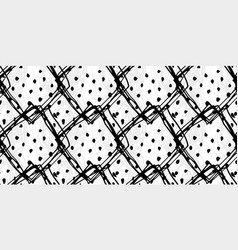 abstract hand drawn seamless grunge pattern vector image