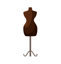 Design mannequin and tailor sign vector