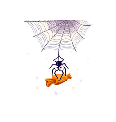 Halloween candies vector