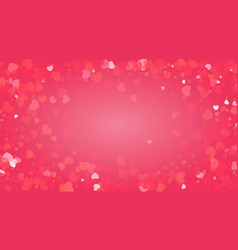 pink glitter background for valentines day card vector image