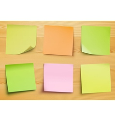 Post it notes vector